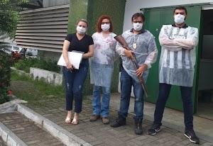 Paciente suspeito de estar infectado foge do hospital mas acaba preso pela Policia Civil
