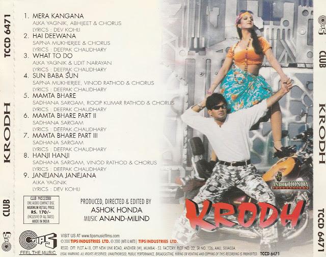 Download Krodh [2000-MP3-VBR-320Kbps] Review