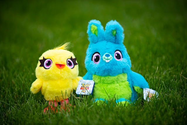 Ducky and Bunny mini plush