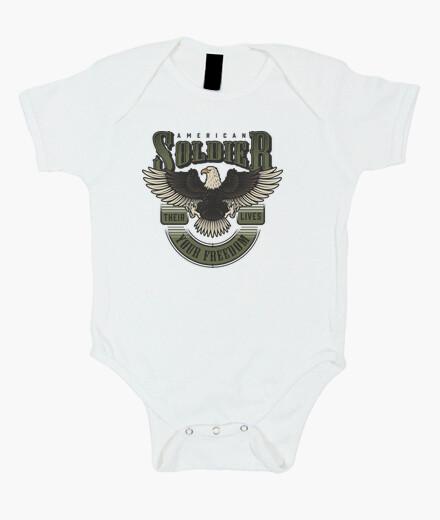 bebe, bebes, militares, bodys