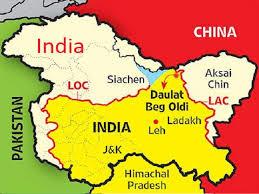 loc map, map of loc, loc full form, full form of loc, line of control,