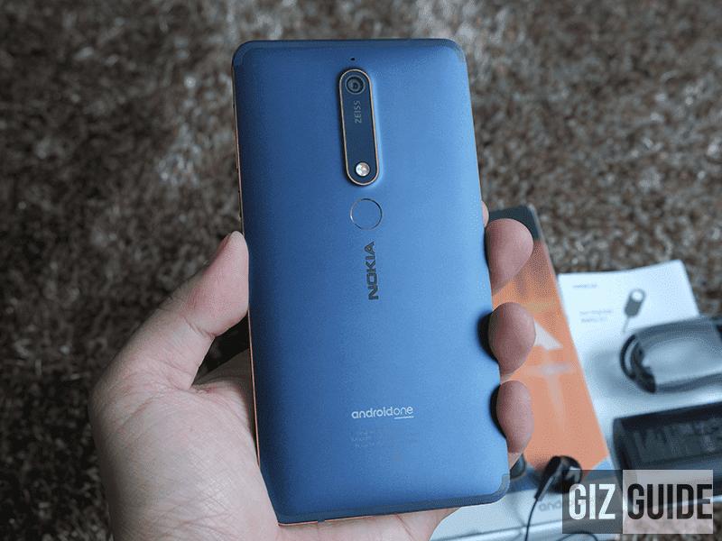 Nokia 6.1 build