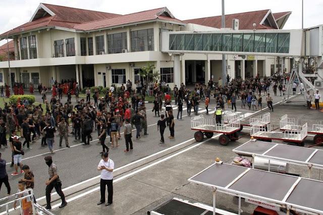 Disesalkan, Rusaknya Fasilitas Bandara karena Aksi Massa Tolak Fahri Hamzah