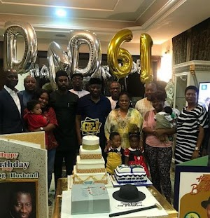 Checkout Beautiful Photos From Jonathan's 61st Surprise Birthday Celebration