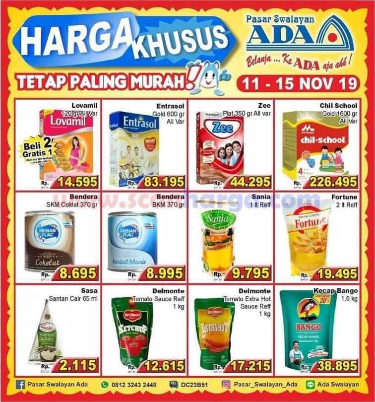 Promo Katalog Ada Swalayan Weekday Harga Khusus 11 - 15 November 2019
