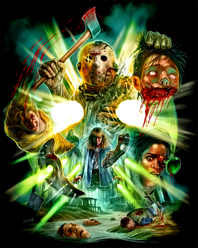 Cavity Colors Offering Awesome Friday The 13th Part 7