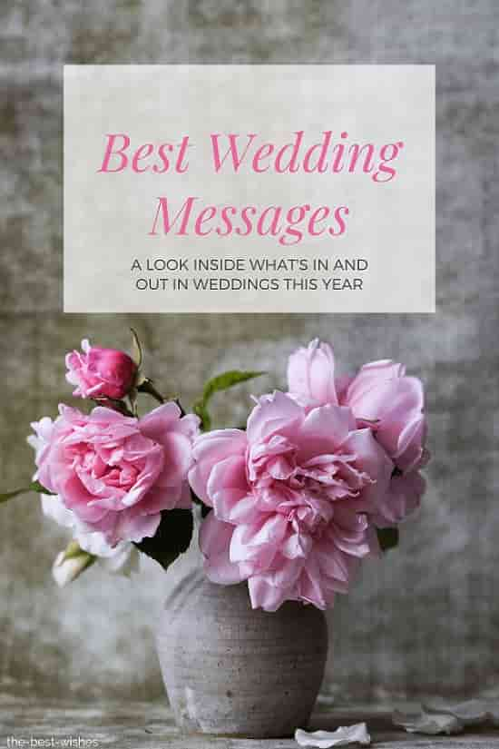best wedding invitation messages