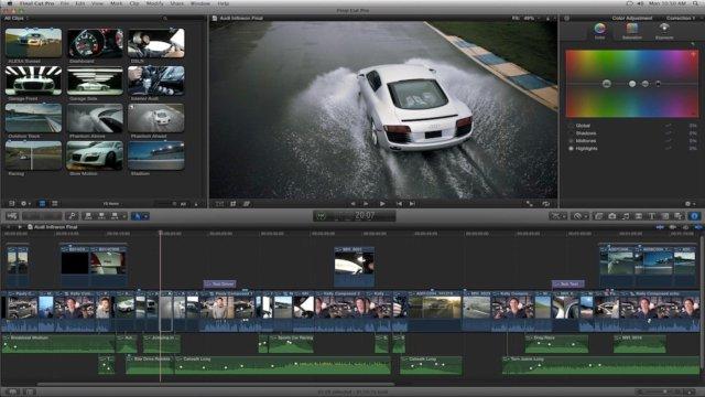 Final Cut Pro X Aplikasi video editing terbaik dan paling bagus