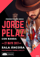 Concierto de Jorge Peláz en Sala Áncora