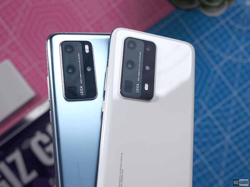 Side by side with the P40 Pro