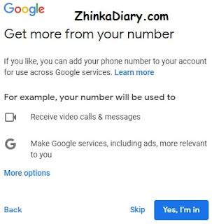 Membuat akun Gmail dengan mudah