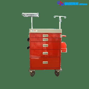 Troli Beroda Ruang Gawat Darurat | Emergency Trolley