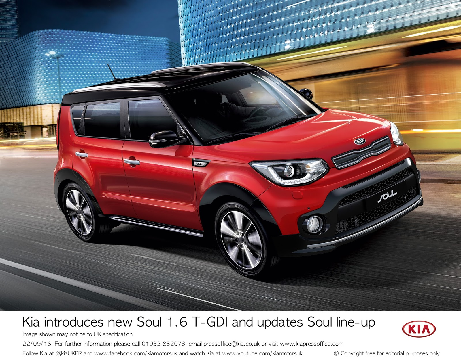 The Motoring World Paris The Upgraded Kia Soul Will Get