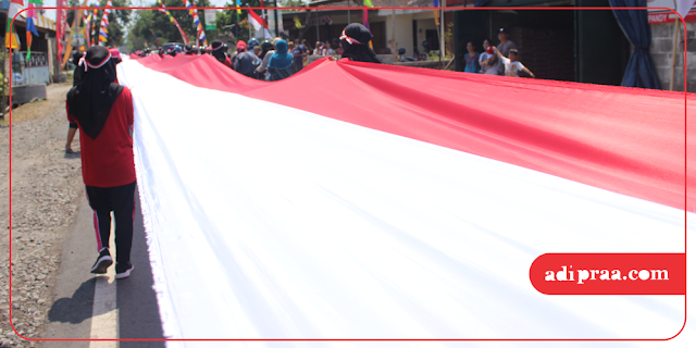 Bendera Merah Putih 740 Meter | adipraa.com