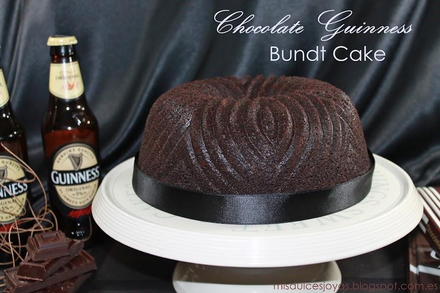 Chocolate guinnes bundt cake