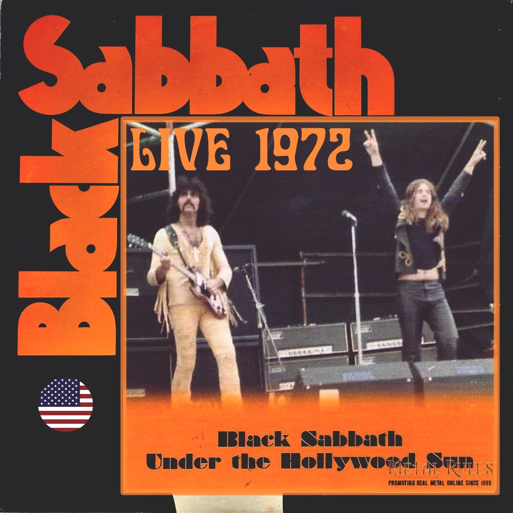 where the buffalo roam bootleg ticos black sabbath live at hollywood 1972 bloody sabbath 1980. Black Bedroom Furniture Sets. Home Design Ideas