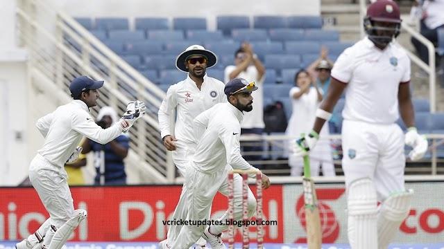 भारतीय गेंदबाजी के आगे केरेबियाई बल्लेबाजो ने घुटने टेके - 196 पर हो गई आउट