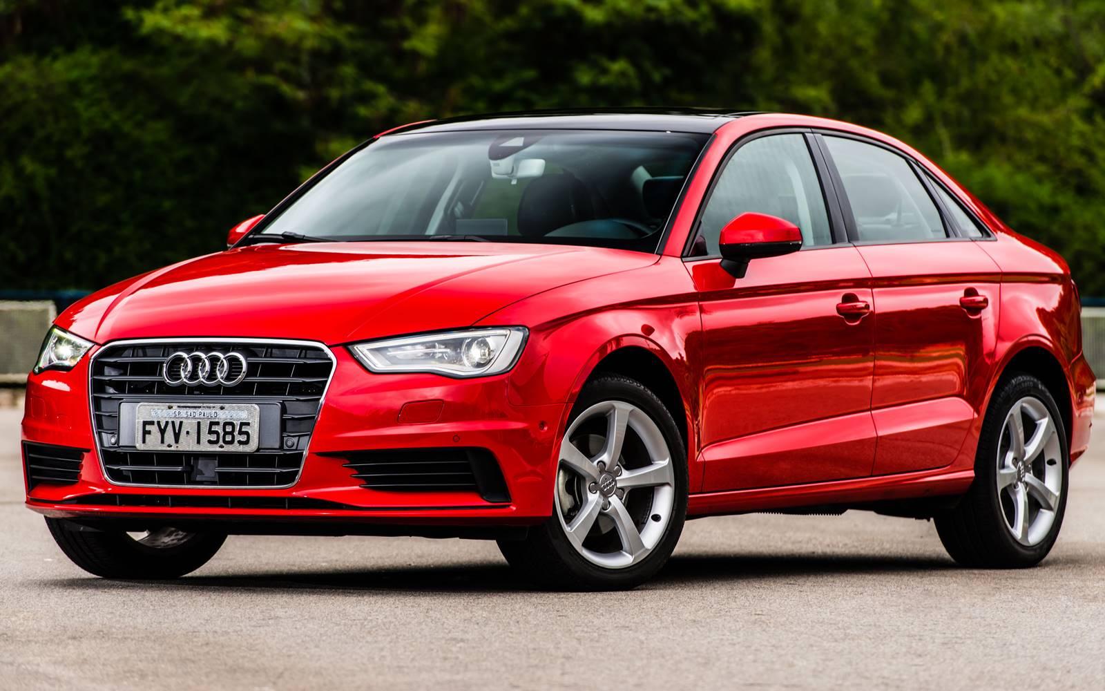 Audi A3 Sedan 1.4 Flex 2016 - carro de luxo mais vendido do Brasil