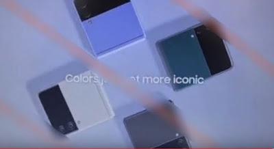 Galaxy Z Fold 3, Galaxy Z Flip 3,  Purple, Green, Silver, White, Grayish color