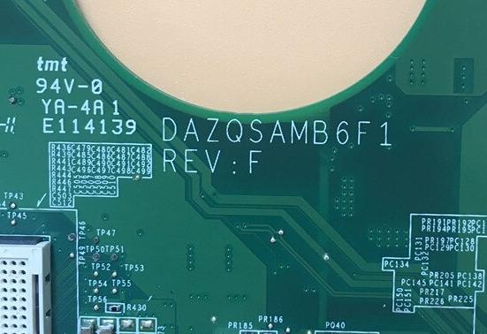 DAZQSAMB6E0 REV E ACER E1-431 Laptop Bios