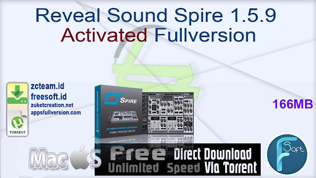 Reveal Sound Spire 1.5.9 Activated Fullversion