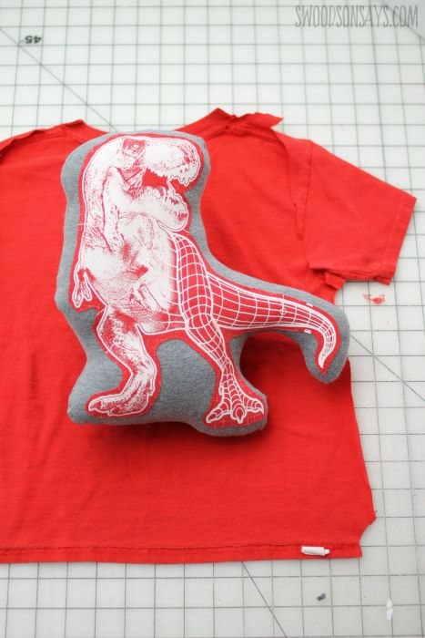 Take your favorite t-shirts and make them into stuffed animals easy and fun