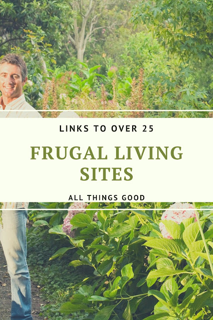 list of frugal living sites