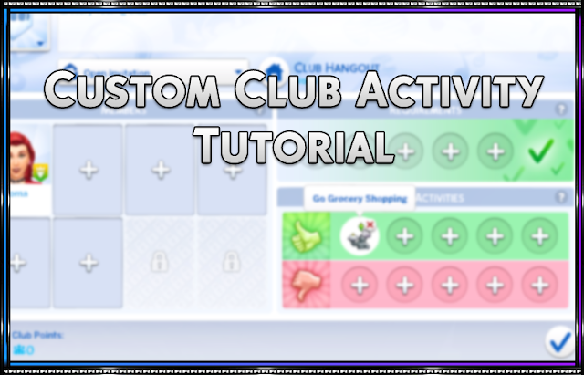 Tutorial: Custom Club Activity
