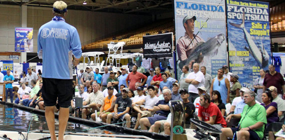 Capt Blair Seminar at Florida Sportsman Show