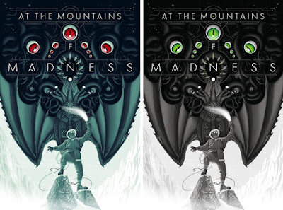 """At The Mountains of Madness"" Screen Print by Jay Gordon x Bottleneck Gallery x Justin Ishmael"