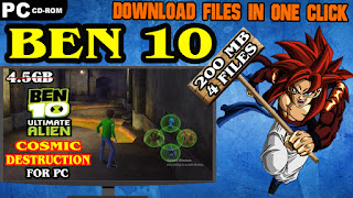 BEN 10 ULTIMATE ALIEN COSMIC DESTRUCTION PC GAME DOWNLOAD