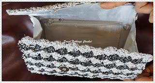 free crochet clutch purse pattern