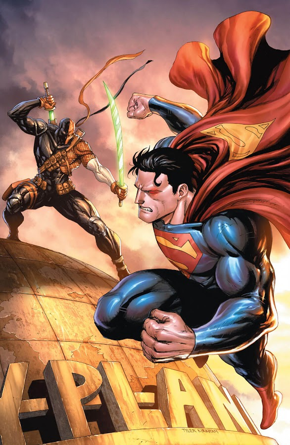 superman vs deathstroke dc rebirth
