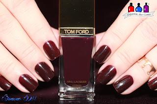 Tom Ford, vinho, cremoso, 10 Viper, carimbada, dourada, apipila, supler placa G, Mony D07, alquimia das cores, semana do +caro,
