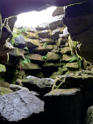 Seefin Passage Tomb, Corbelled Roof