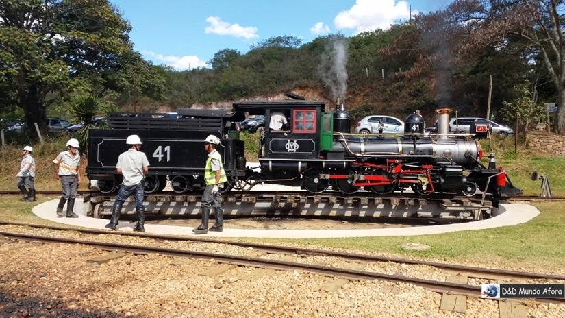 Virada da Locomotiva - Passeio de Maria Fumaça em Tiradentes - São João del Rei a Tiradentes