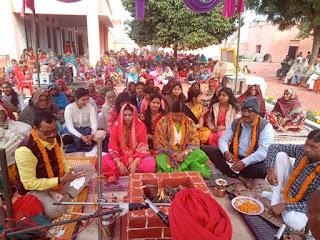 Jaunpur  जयंती पर याद किये गये स्व. समरजीत सिंह, बाँटे गये 300 कंबल