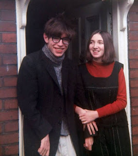 Stephen Hawking with wife Jane