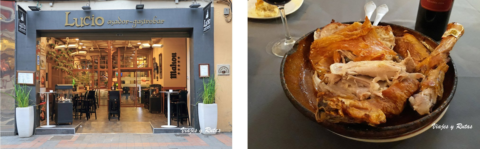 Restaurante casa Lucio, Palencia
