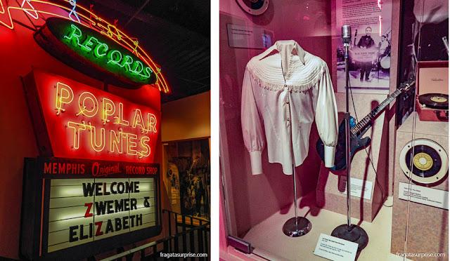 Rock'n'Soul Museum: lembranças da Poplar Tunes e de Carl Perkins