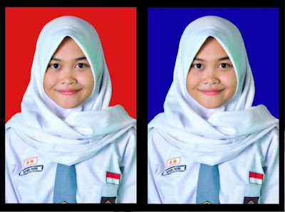 kode warna background pas foto