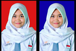 Cara Mengganti Background Merah/Biru Pas Foto di Photoshop