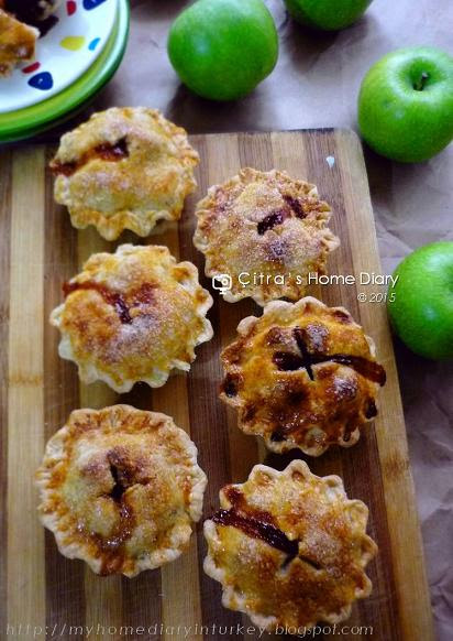 Mini Apple Pie #recipe / resep pie apel mini