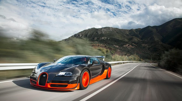 OMG! The 11 FASTEST CARS Ever! - 3 - BUGATTI VEYRON SUPER SPORT