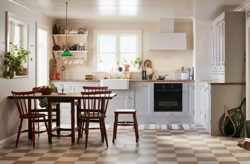 Encantador Iluminación De La Cocina Estilo Country Ornamento - Ideas ...