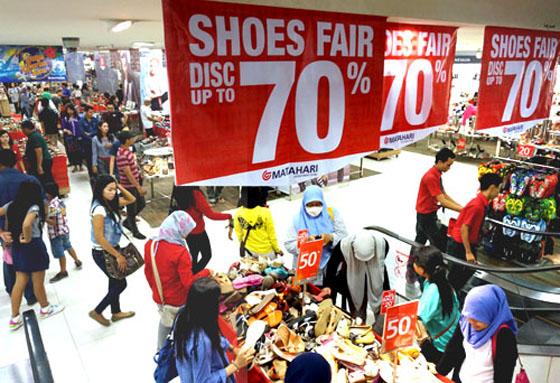 Sepatu wanita di toko online terpercaya