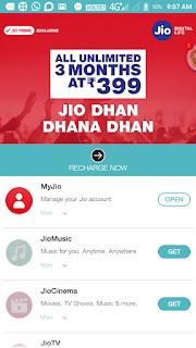 My jio app open Kijiye