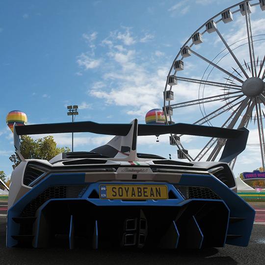 Forza Horizon 4 Festival Fair Wallpaper Engine
