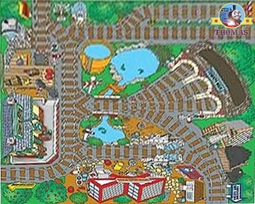 Thomas The Train Bedroom Rug Kids Carpet Play Mat Nursery ...