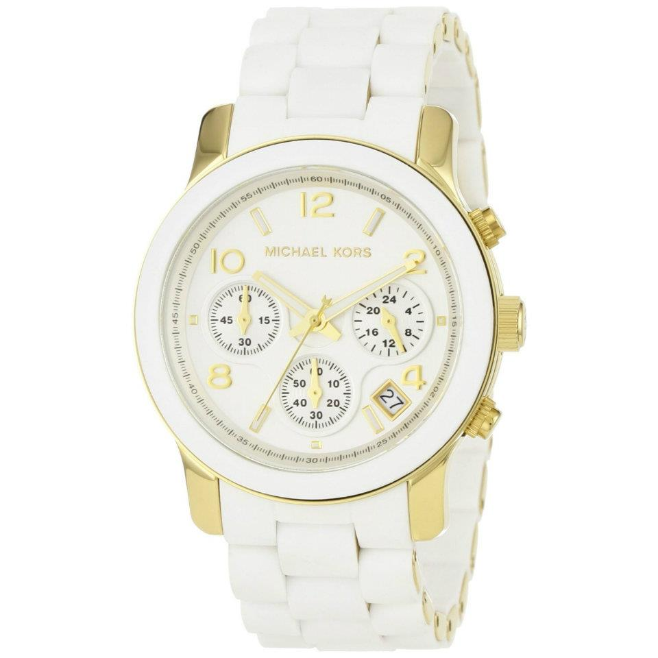 Relógios Da Lili  Relógio Michael Kors - Branco 39bb609f62